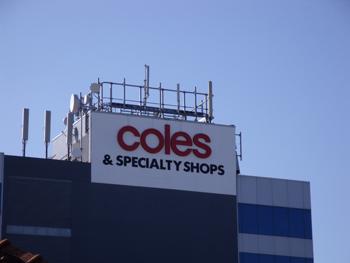 Coles re-branding